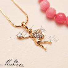 گردنبند فرشته و قلب مارون CN163