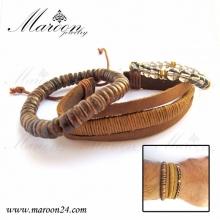 دستبند مردانه زیورآلات مارون MMD24