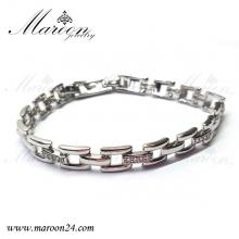 دستبند مارون با کریستال های سواروفسکی CD55