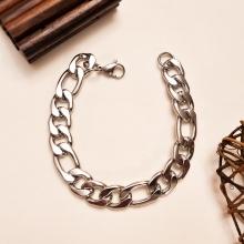دستبند مردانه و پسرانه فیگارو پهن مارون MM73