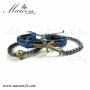 دستبند مردانه زیورآلات مارون MMD34